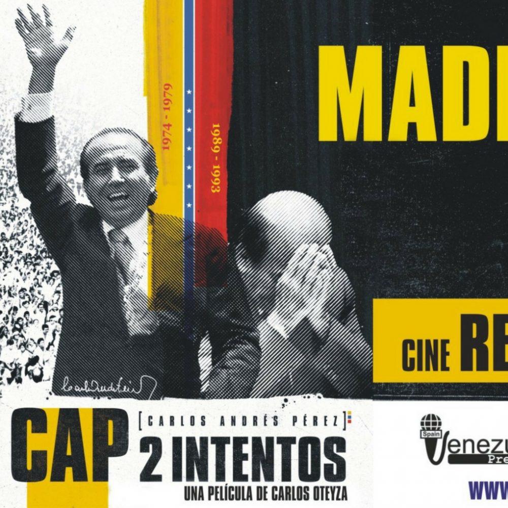 «CAP 2: intentos» llega a España, un viaje al pasado reciente de Venezuela para encarar el futuro
