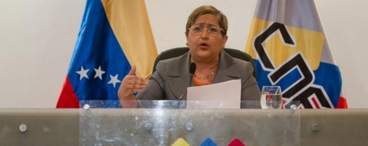 Tibisay Lucena confirma validación del 1% para activar referendo revocatorio
