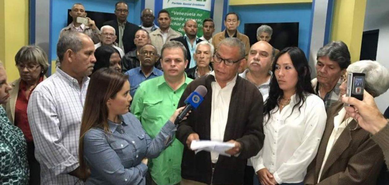 Eduardo Fernández es el candidato que propone Copei para presidenciales