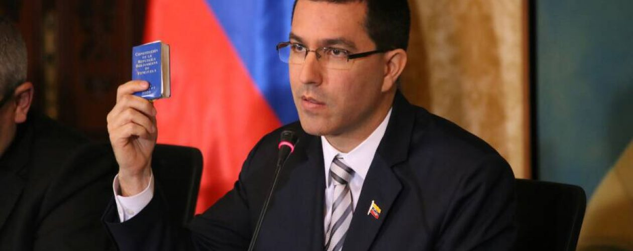 EEUU aumentará sanciones para impedir presidenciales en Venezuela, según Arreaza