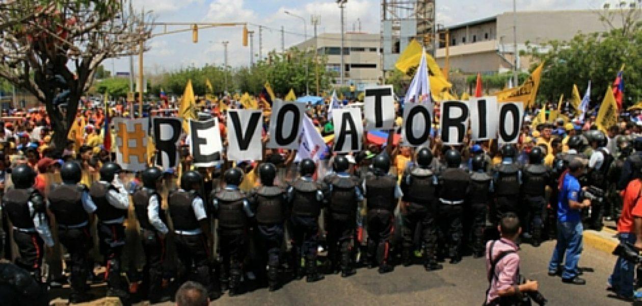 Marcha al CNE saldrá desde Plaza Venezuela