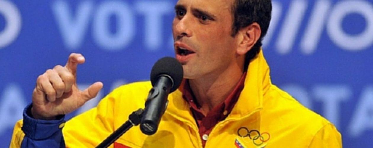 """Capriles asegura que el referendo revocatorio """"sí puede ser este año"""""""