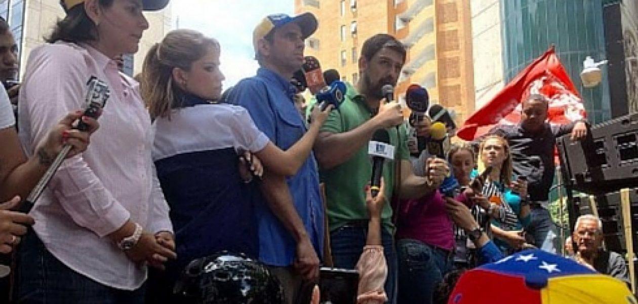 Capriles en marcha al TSJ: No solo Maduro debe salir del poder, también los jueces corruptos