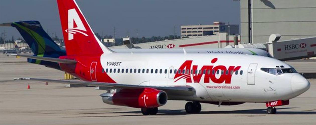 Vuelos de Avior desde Venezuela hacia Aruba y Curazao quedarán suspendidos