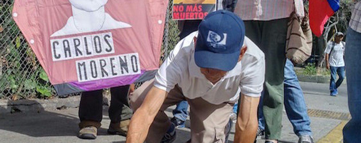 Honraron la memoria de Carlos Moreno asesinado en las protestas del 2017