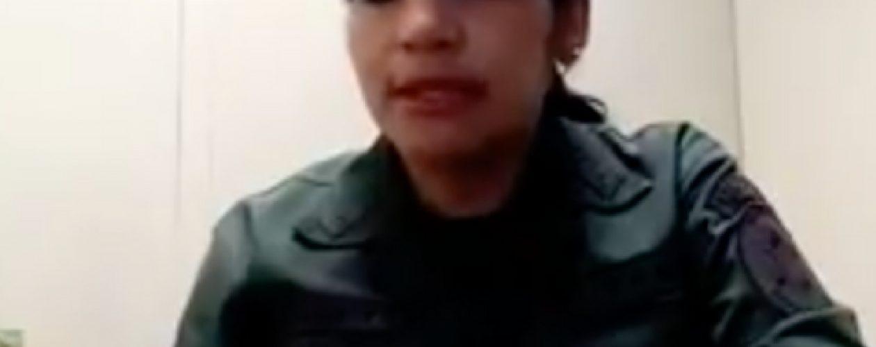 """Primera Teniente Carolina Draegert: """"Hay un malestar inmenso en los cuarteles desde hace mucho tiempo"""""""