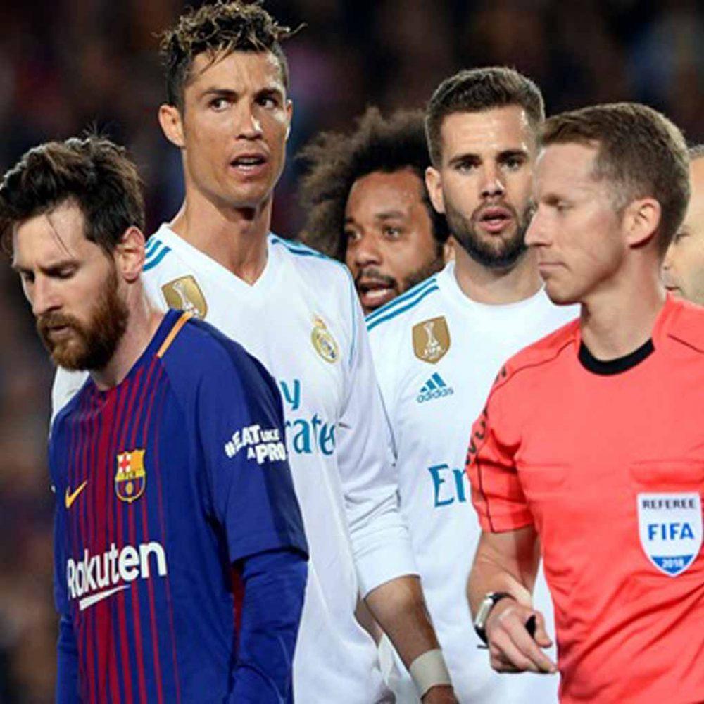 El Clásico Real Madrid Barcelona se jugó a sangre y fuego