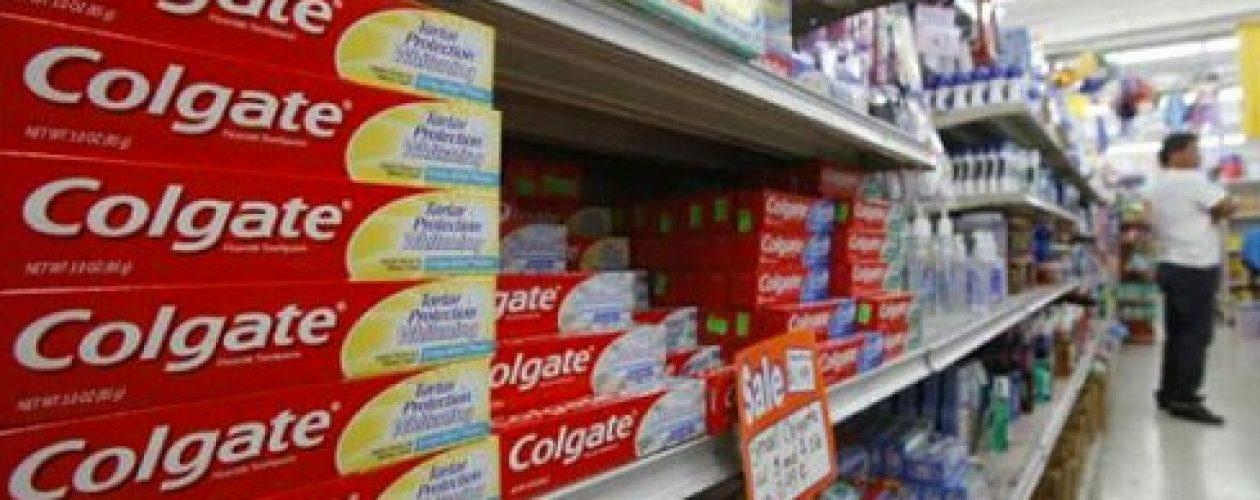 Colgate Palmolive paralizará producción de crema dental