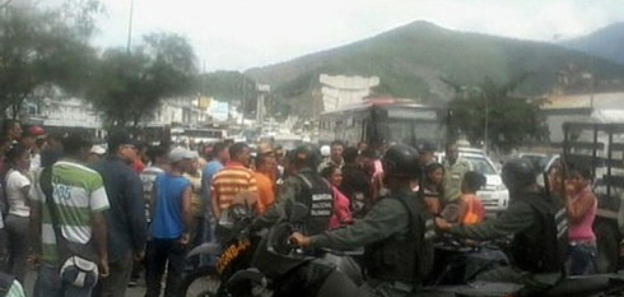 Conato de saqueo en Guarenas por escasez de comida