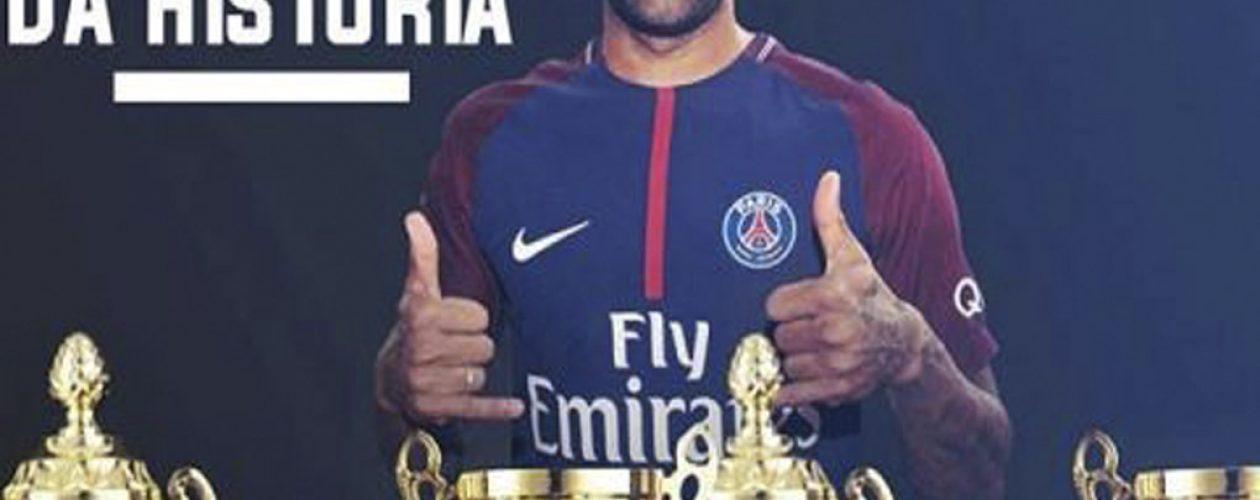 Así fue la criticada felicitación de Neymar al PSG por de Copa de la Liga Francesa