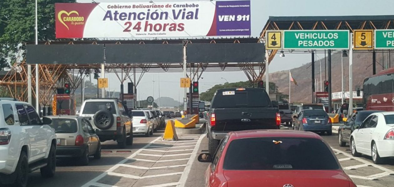 Estas serán las nuevas tarifas para los peajes en Carabobo