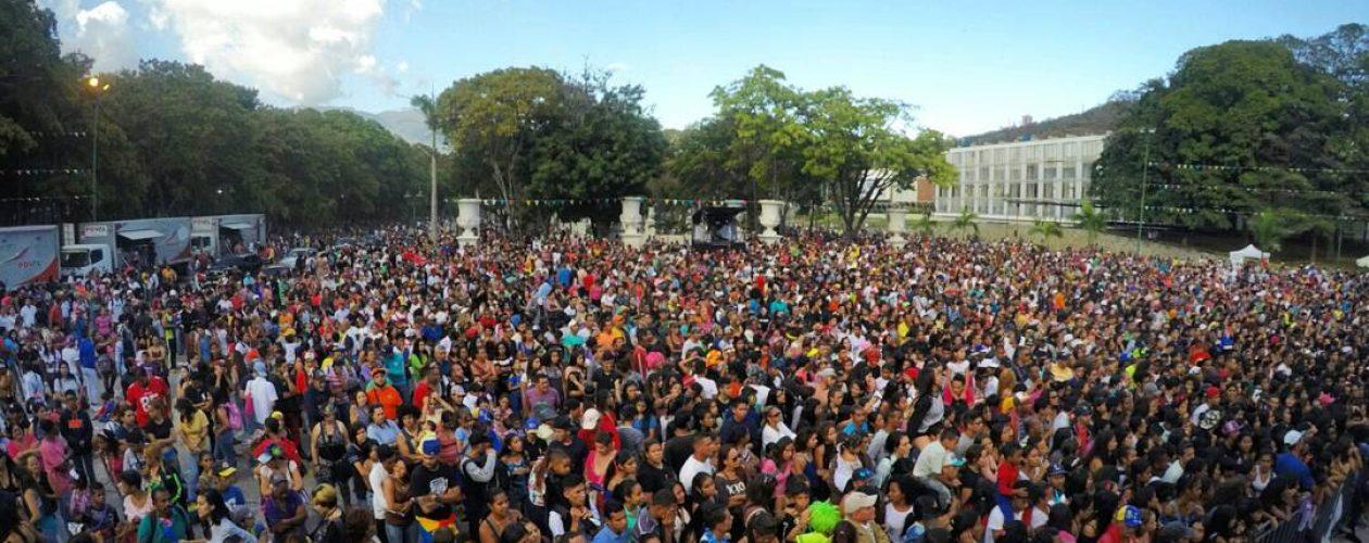 Celebración del carnaval en Los Próceres terminó en disparos (Video)