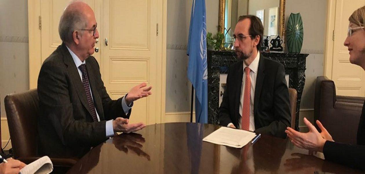 Ledezma y Capriles opinaron ante la denuncia hacia Venezuela del Alto Comisionado de DDHH de la ONU