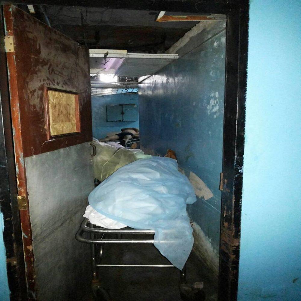 Botaron cadáveres del Hospital de Acarigua por estar descompuestos (Vídeo)