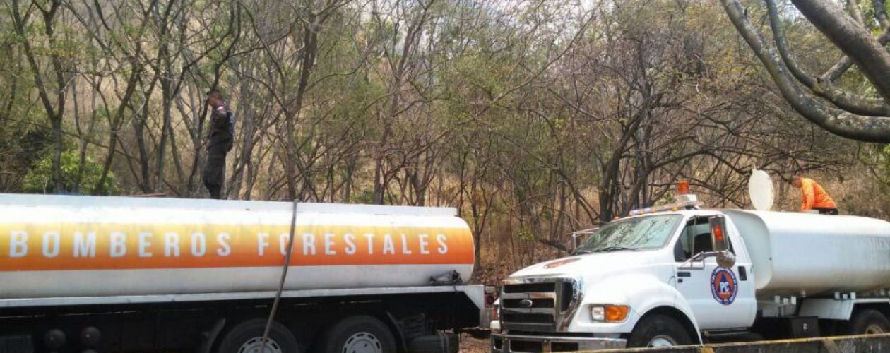 Controlan fuerte incendio que consumió más de 4 hectáreas en El Ávila