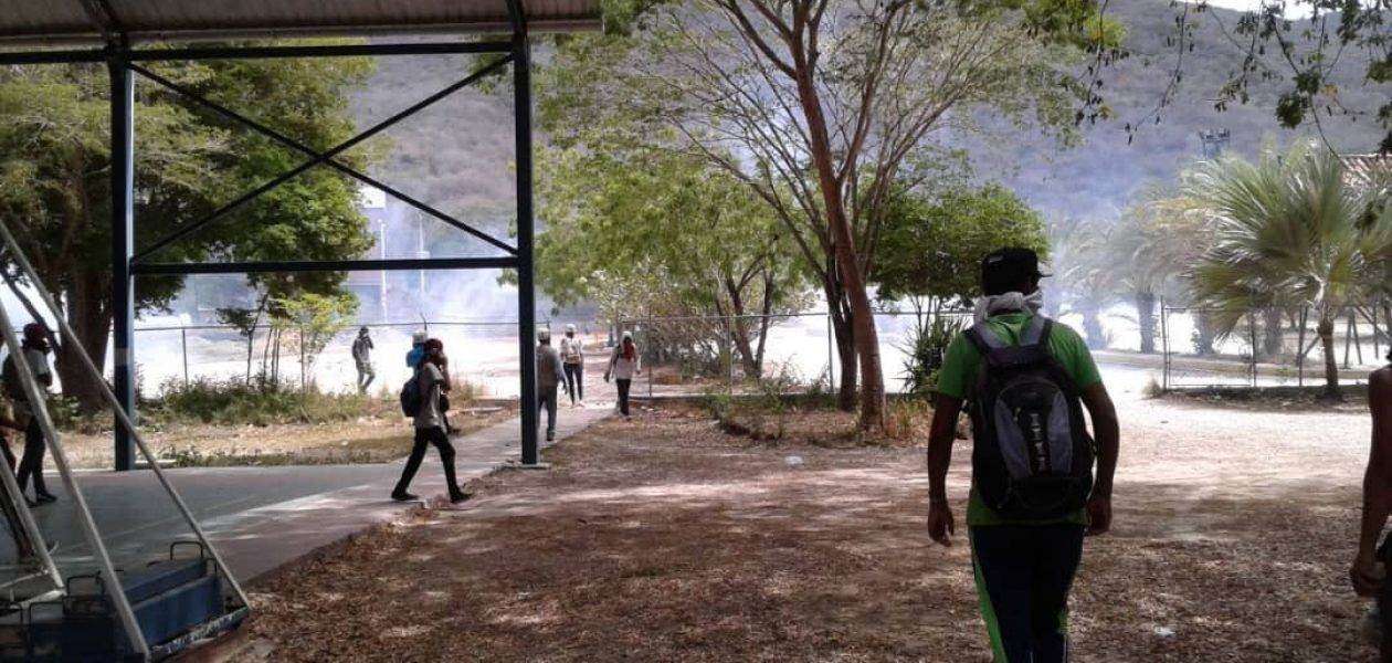 Siete detenidos por la GNB tras protestas en Nueva Esparta