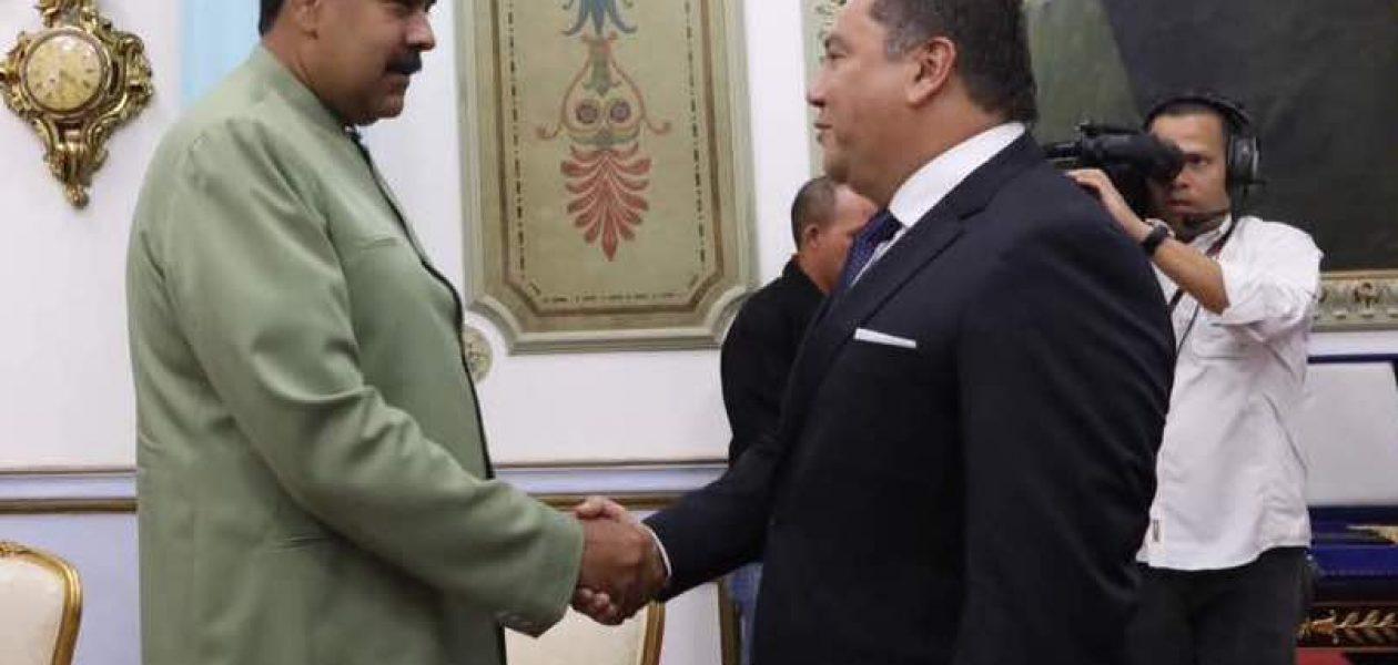 Bertucci se reunió con Maduro y aseguró la liberación de presos políticos