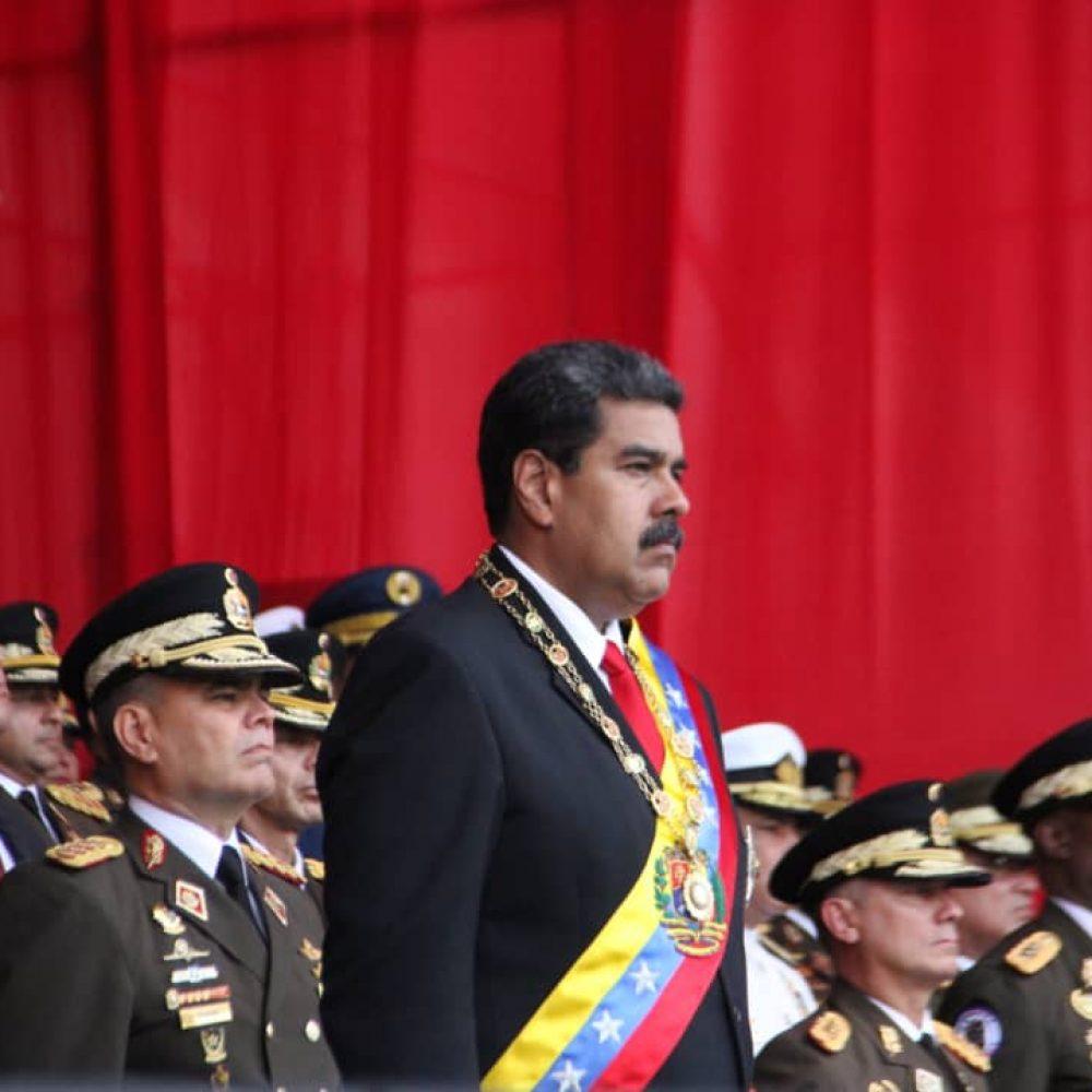 Maduro dijo que EE UU promueve una conspiración militar en Venezuela