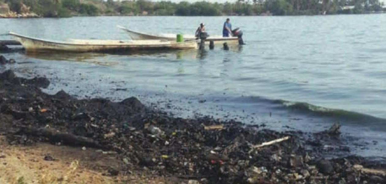 El derrame petrolero en el Lago de Maracaibo es de 250 barriles a diario