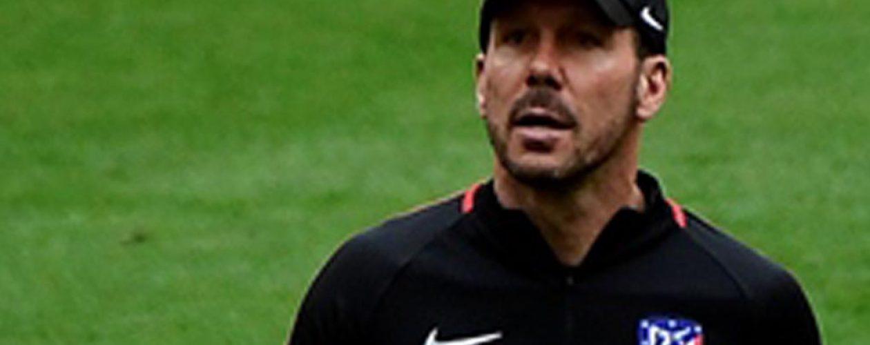 La UEFA confirmó la suspensión de Diego Simeone