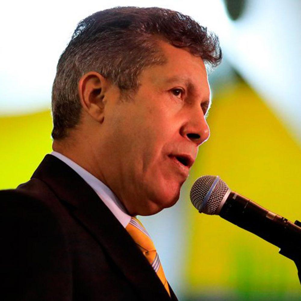 Discurso de Henri Falcón a Maduro, los argumentos de un candidato