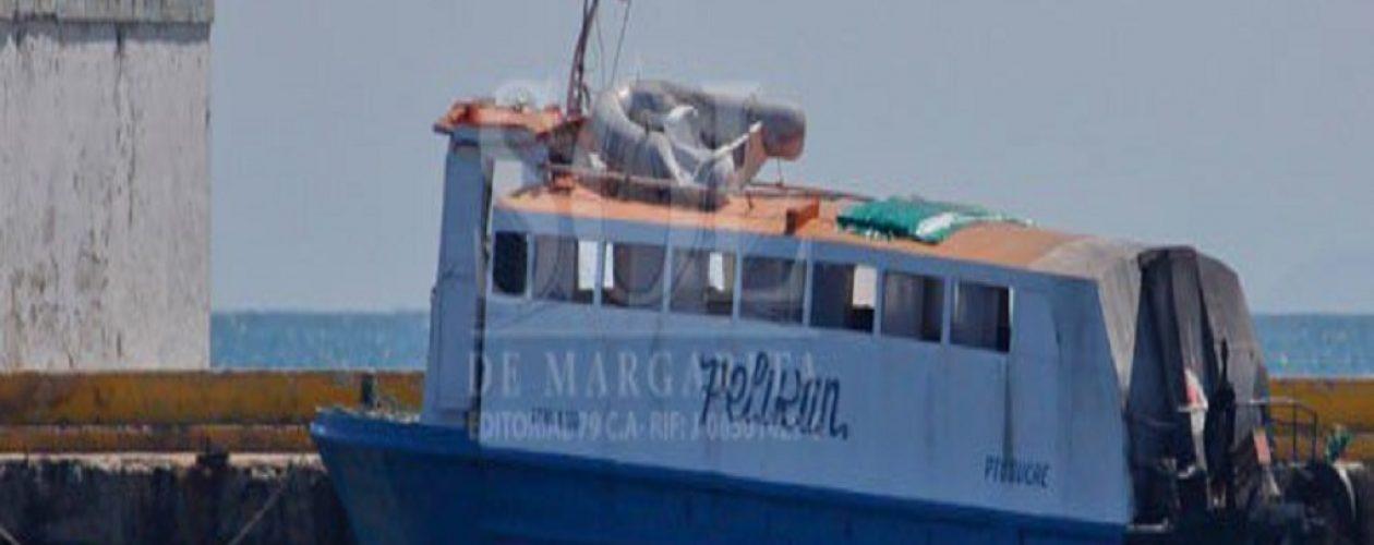 """Ferri """"La Caranta"""" se impactó contra el muelle del embarcadero de Puerto La Cruz"""