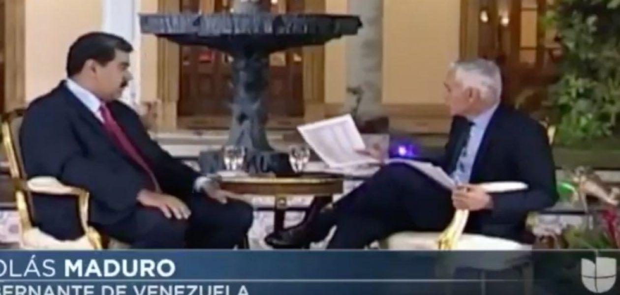 Jorge Ramos recupera el material de la entrevista con Maduro que le fue arrebatado en Miraflores