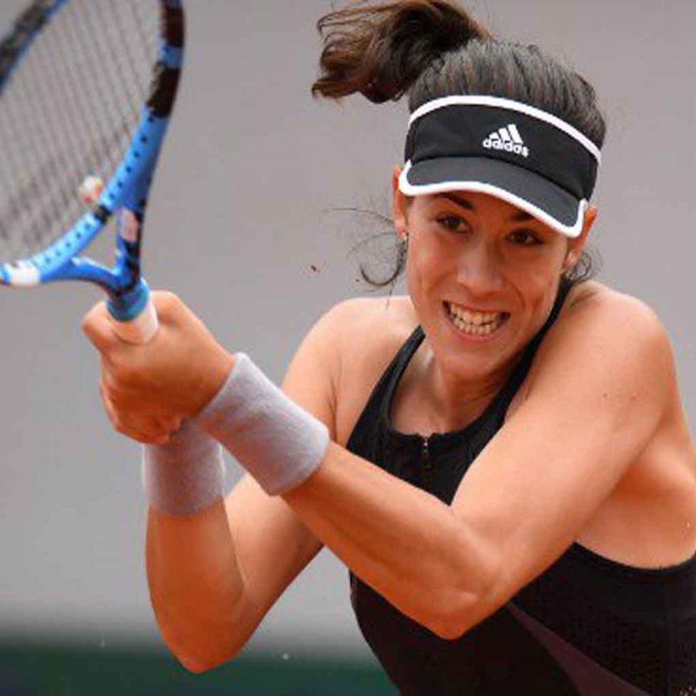 Garbiñe Muguruza comienza con el pie derecho en Roland Garros
