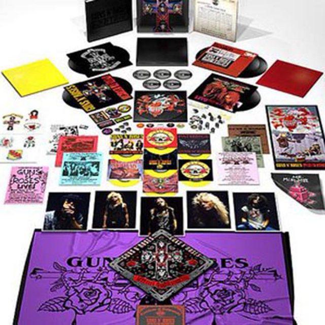 Guns N' Roses lanzará reedición de Appetite for Destruction