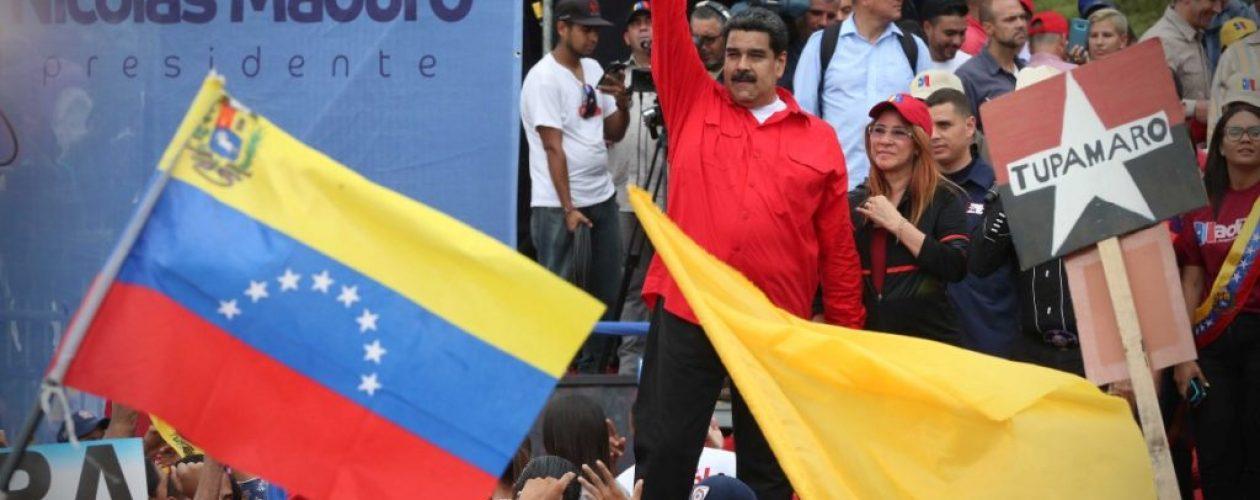 La «delicada» reacción de Maduro cuando no le funcionó el audio (Video)