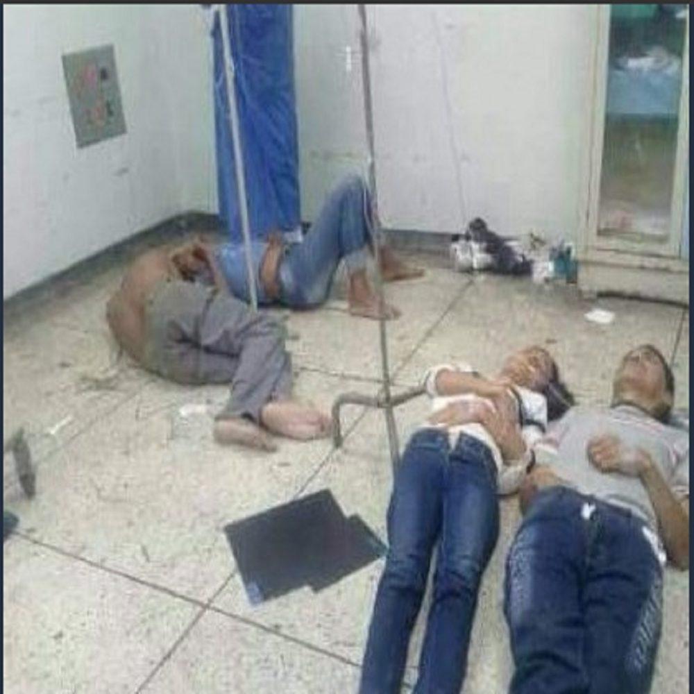 Pacientes del Hospital Central de Maracay son atendidos en el piso