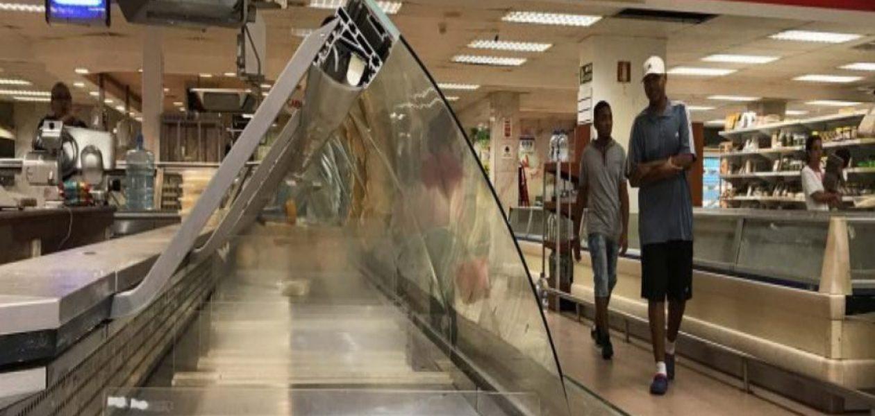 Supermercados vacíos por fiscalización del Sundde en Venezuela