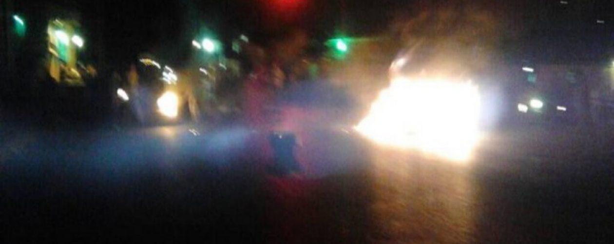 Reportan protesta contra Maduro en Guárico