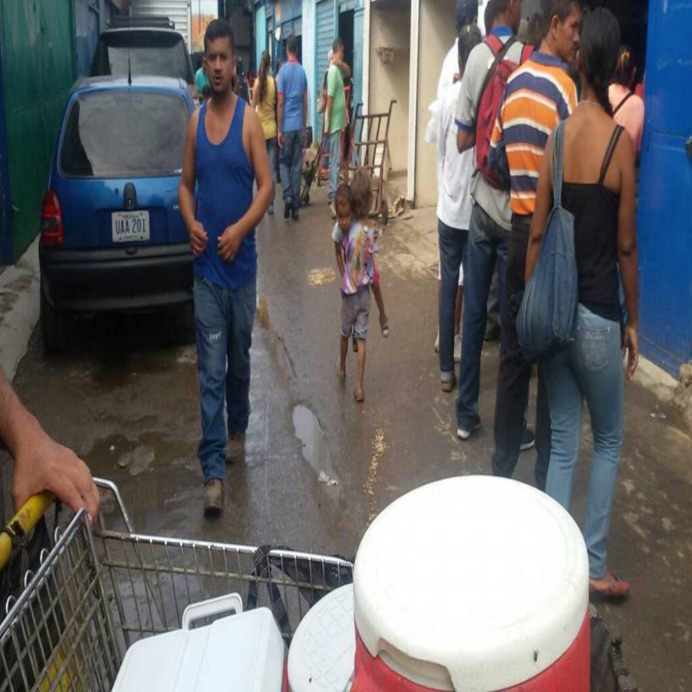 Lo que se vive en los mercados principales de Venezuela