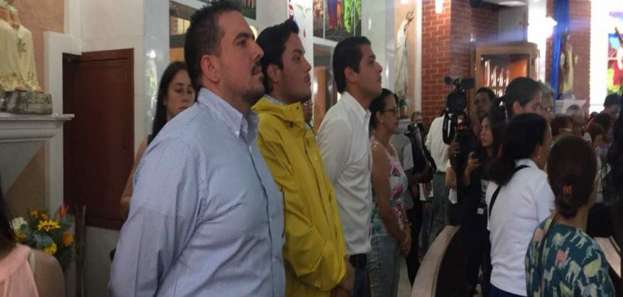 Diputados asistieron a la Iglesia María Auxiliadora este 20 de mayo