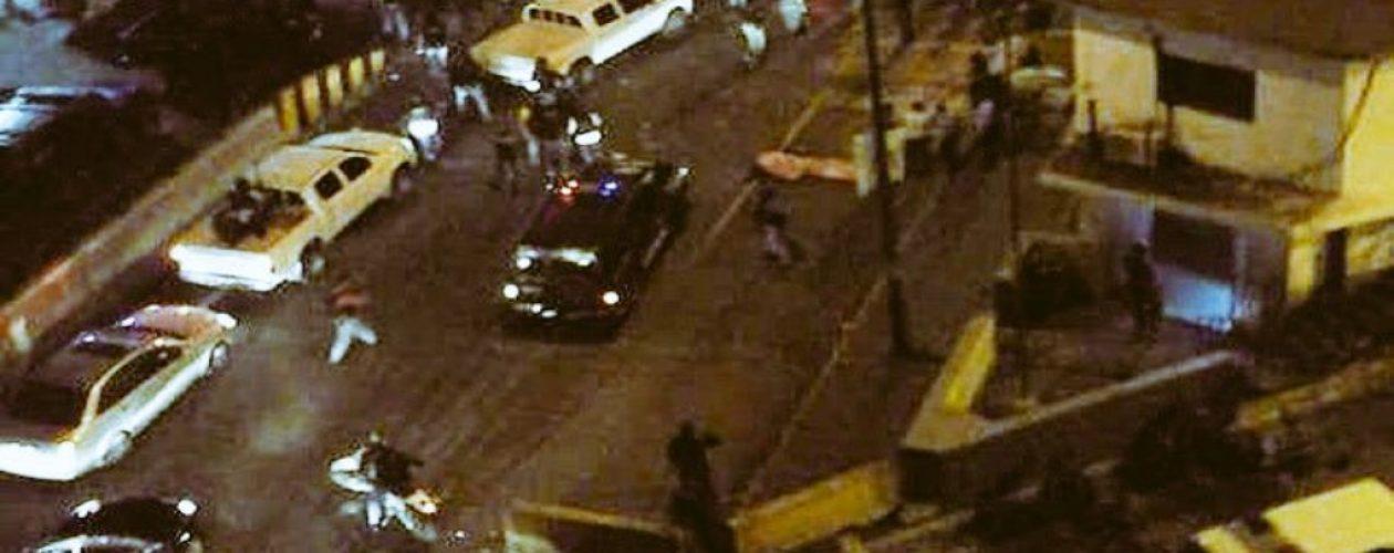 Situación irregular en Petare entre colectivos y Sebin dejó un fallecido