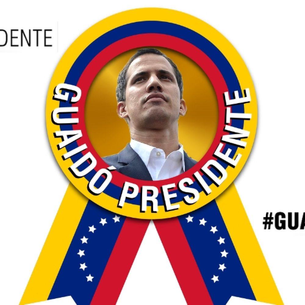 """Reconocimiento de Juan Guaidó, """"el legítimo presidente de Venezuela»"""