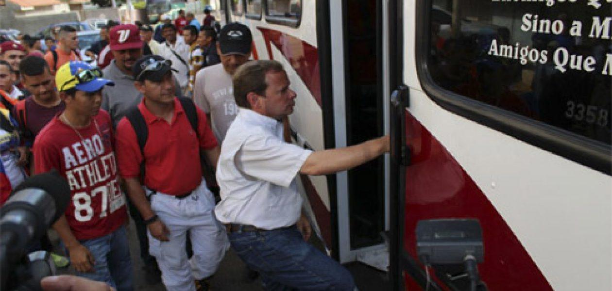 El Zulia ya arrancó a La Toma de Caracas