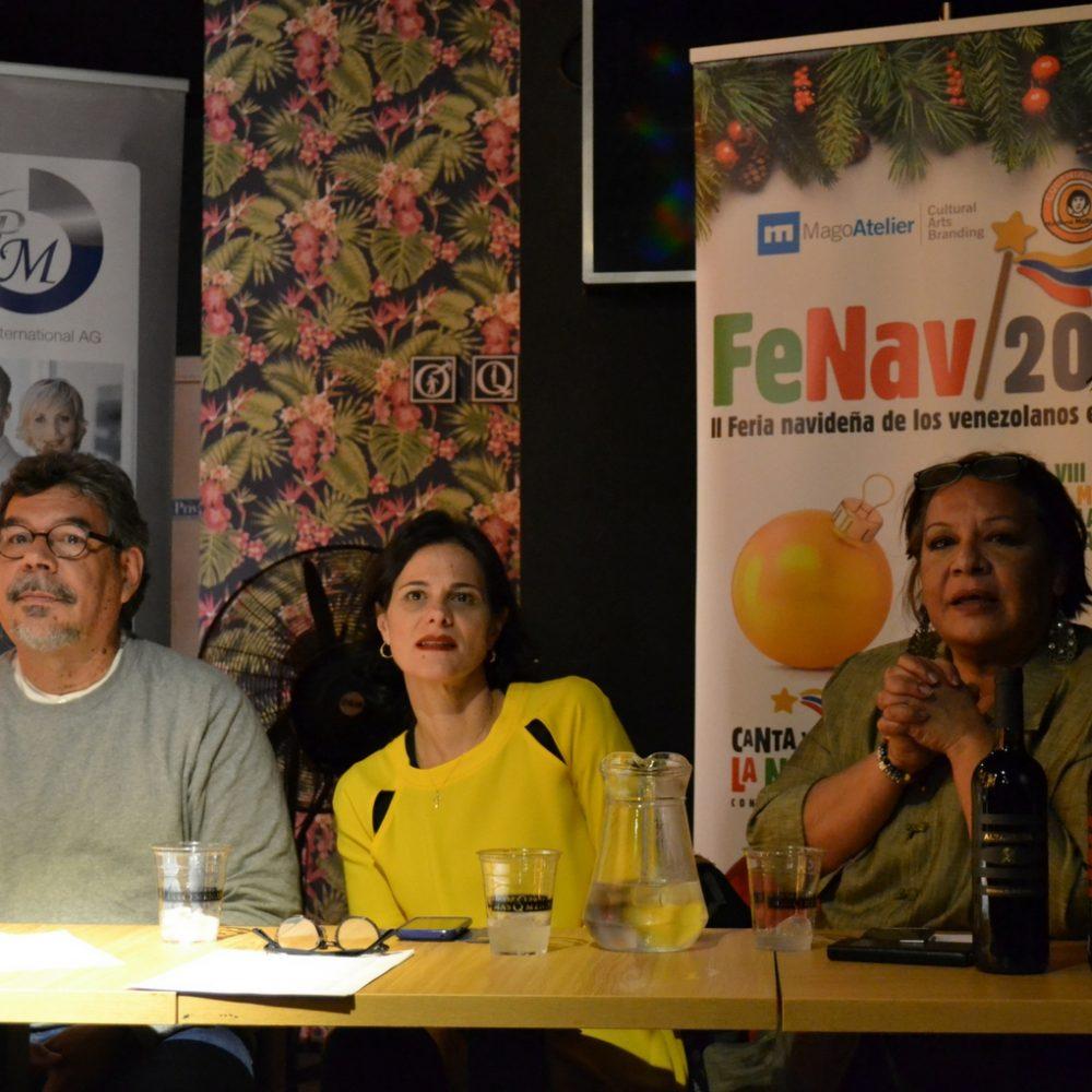 Venezolanos celebran II Feria Navideña en Madrid