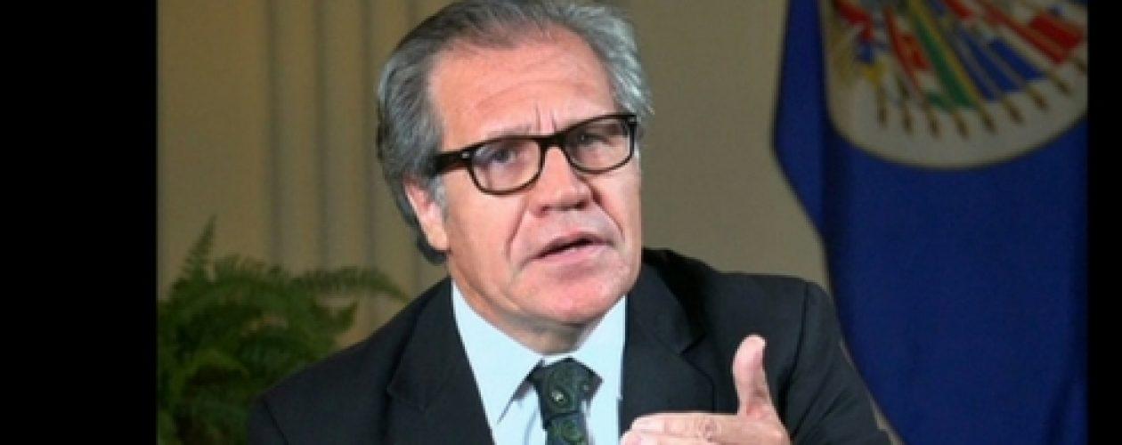 Almagro pide elecciones generales en Venezuela para salir del régimen autoritario
