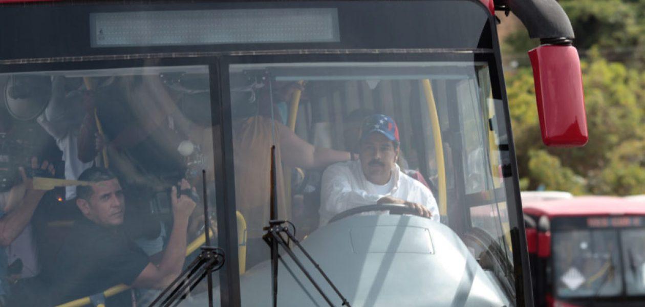 Gobierno bolivariano le meterá mano a los choferes de Caracas