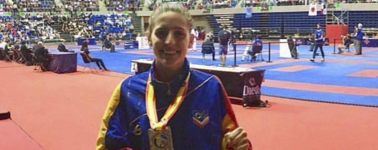 Marianth Cuervo se tituló subcampeona mundial