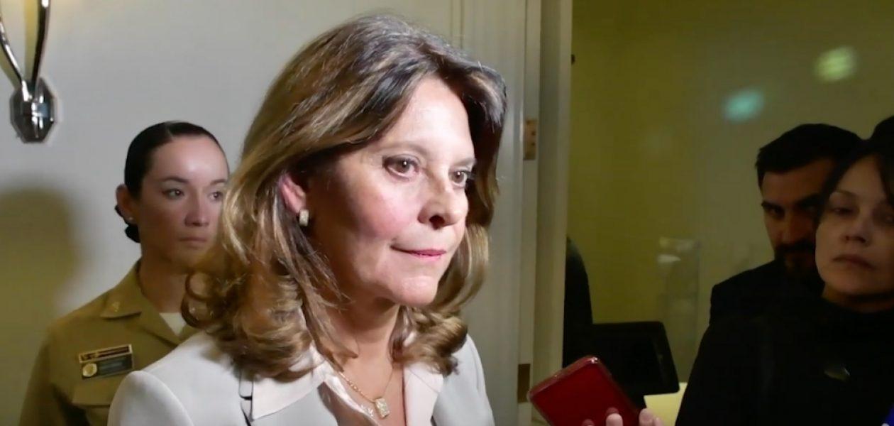 """Marta Lucía Ramírez: """"El régimen criminal que hay en Venezuela es insostenible"""""""