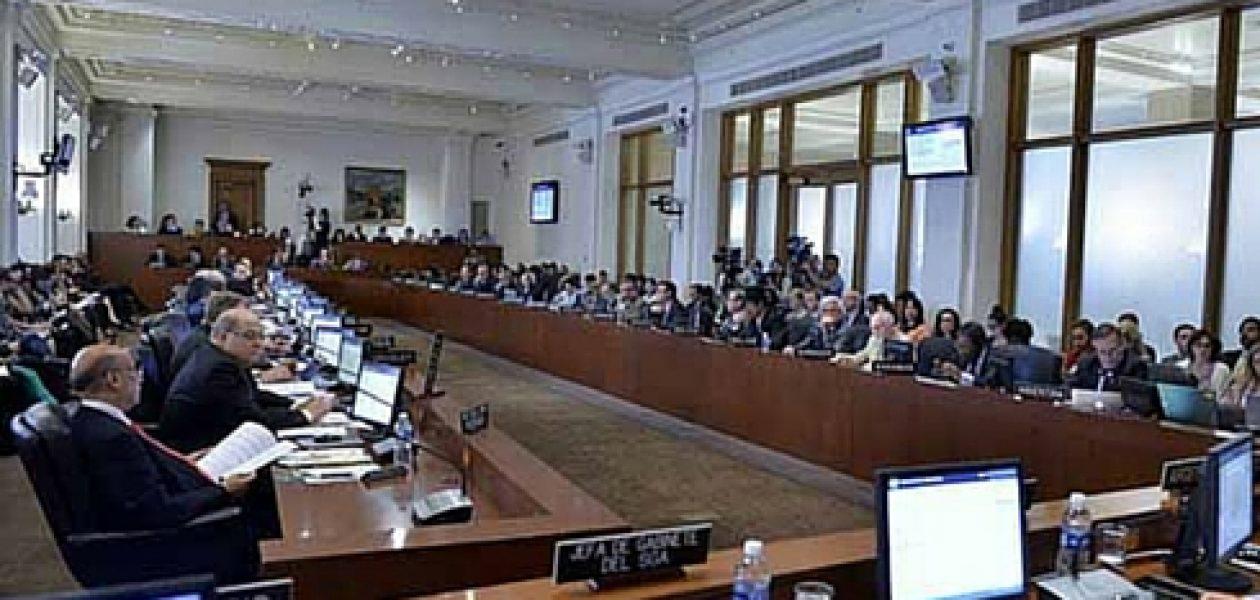 Detalles de la sesión de la OEA sobre Venezuela