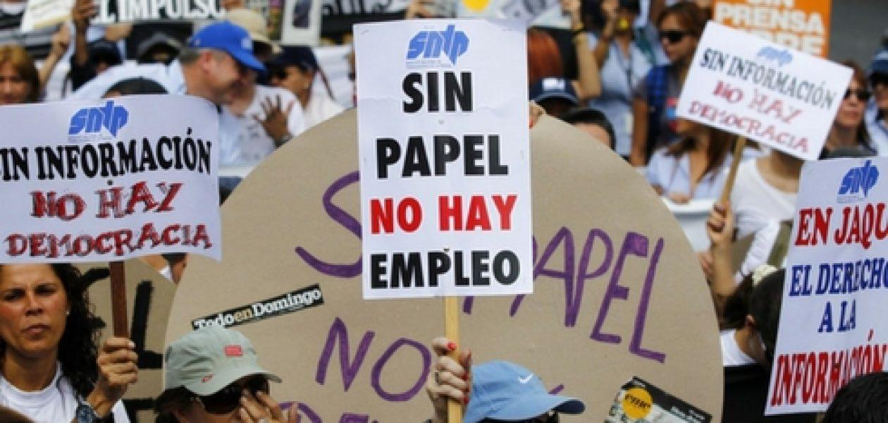 ONU y CIDH alertan del deterioro de la libertad de prensa en Venezuela