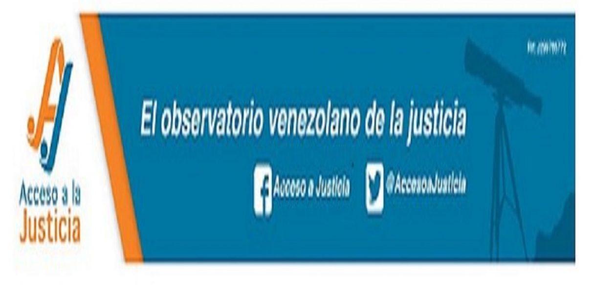Mediante un comunicado el Observatorio Venezolano de la Justicia rechazó las elecciones presidenciales