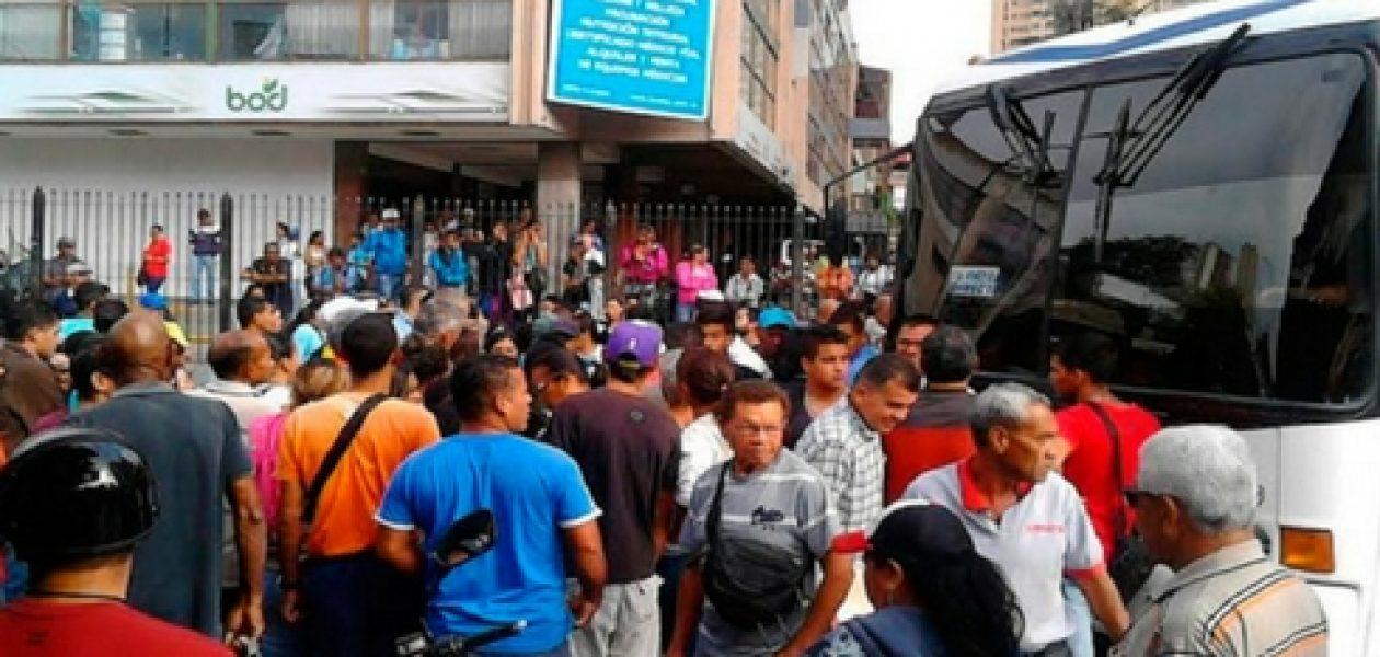 Paro de transporte puso de cabeza al gobierno de Aragua