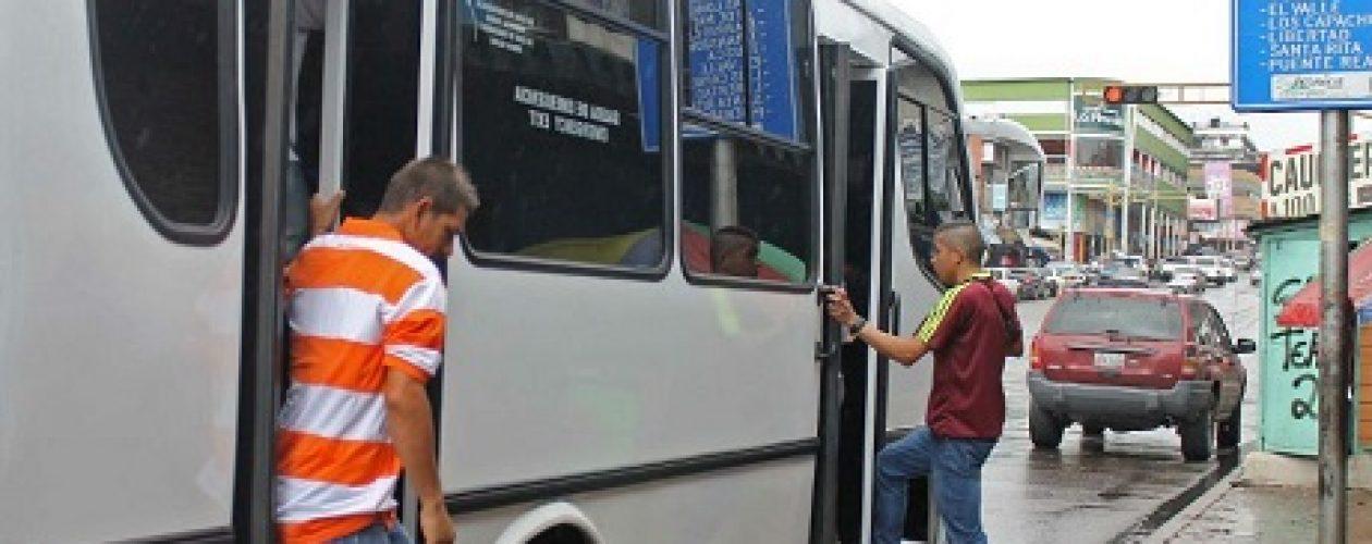 Paro de transporte en San Cristóbal se cumplió en su totalidad