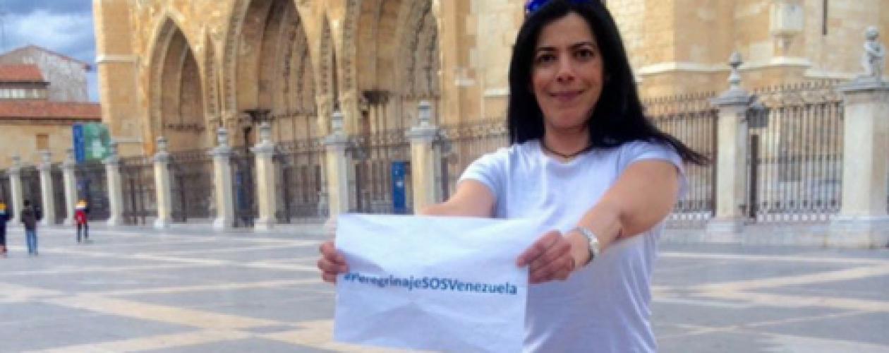 Patricia peregrinará 16 días por la transición de Venezuela