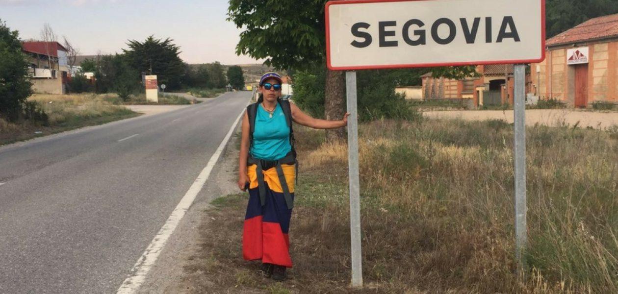 Patricia llega el 16 de junio a Madrid en su #PeregrinajeSOSvenezuela